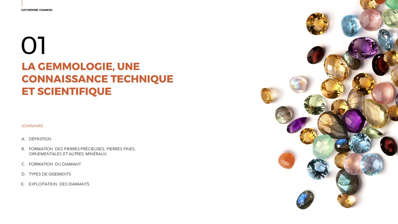 Conférence La Gemmologie au cœur de l'Expertise des Bijoux Anciens et Contemporains